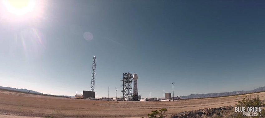 Blue Origin - West Texas Launch Site