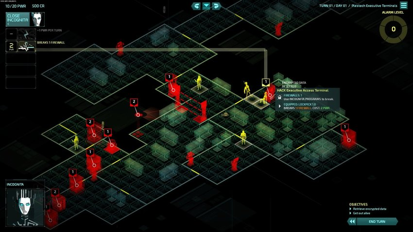 Invisible Inc - Incognita View