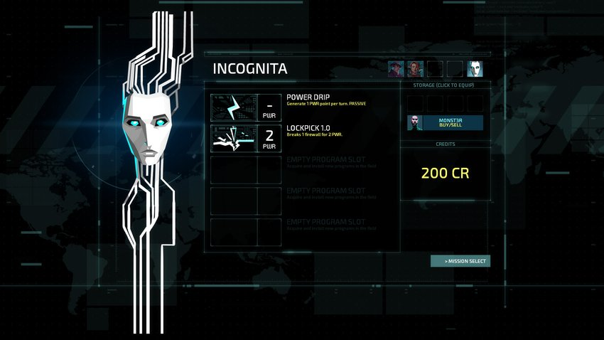 Invisible Inc - Incognita Detail