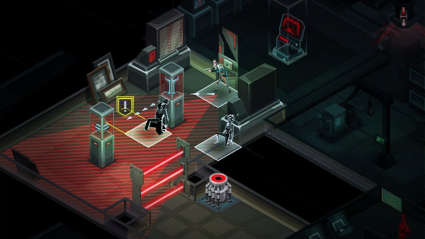 Invisible Inc - Checking Agent's Predicted Path