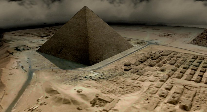 3D models of Pyramids in Egypt