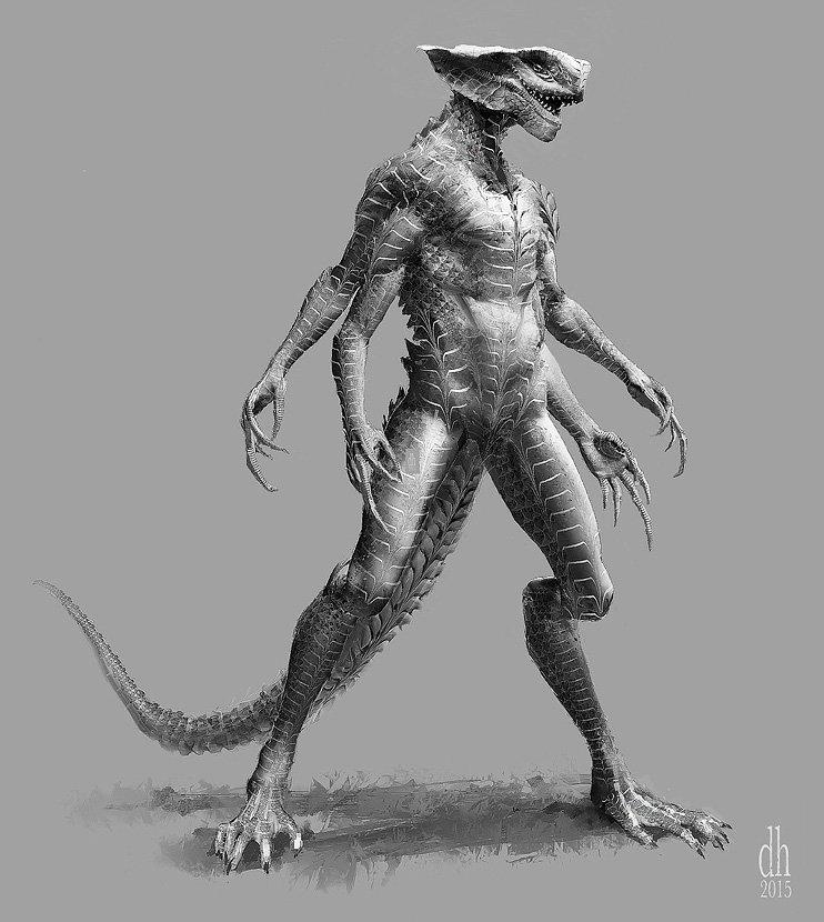 Taybuse Alien Concept Variation #3