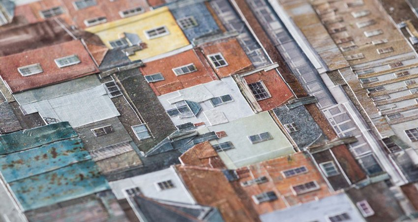 Pirule - Intricate Paper Collages from Old Magazines and Books